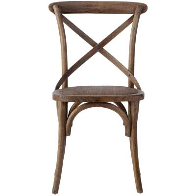 Hyde Ash Grey Wood Dining Chair (Set of 2)
