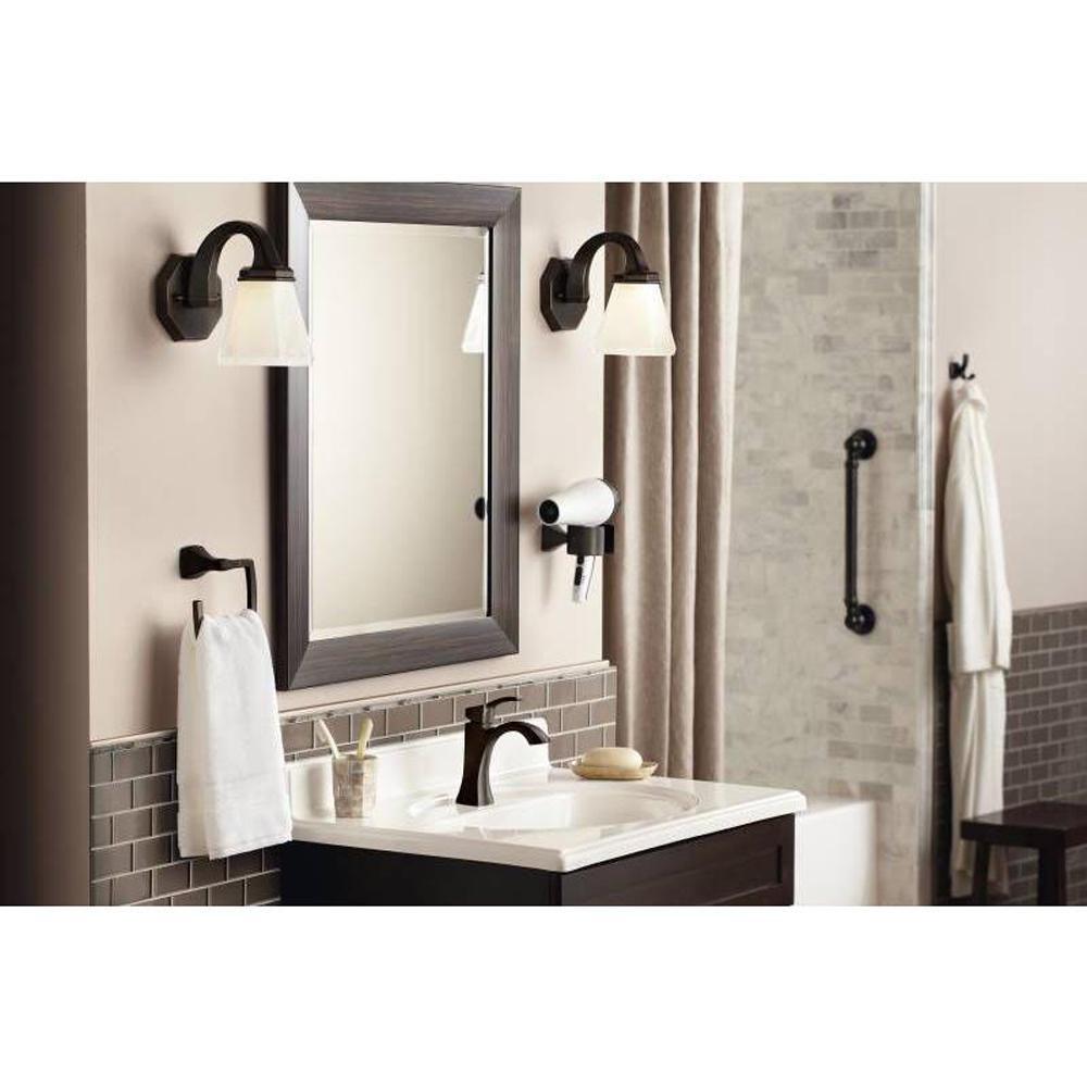 Black Oil Rubbed Bronze Round Bathroom Towel Ring Towel Rack Holder Pba446
