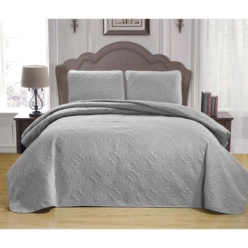 Duck River Carlotta Taupe King Bedspread Set CARLOTTA 13276D=1