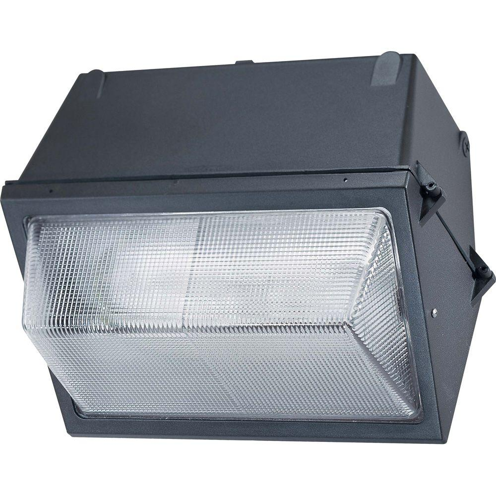 Glomar Metal Halide Architectural Bronze Outdoor 400-Watt MH E39 Base Wall Pack