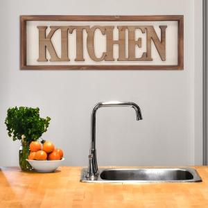 Stratton Home Decor Stratton Home Decor Kitchen Decorative Sign by Stratton Home Decor