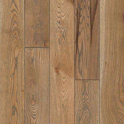 Take Home Sample - White Oak Subdued Gray Solid Hardwood Flooring - 5 in. x 7 in.