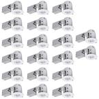 4 in. White Dimmable Recessed Lighting Kit (20-Pack)