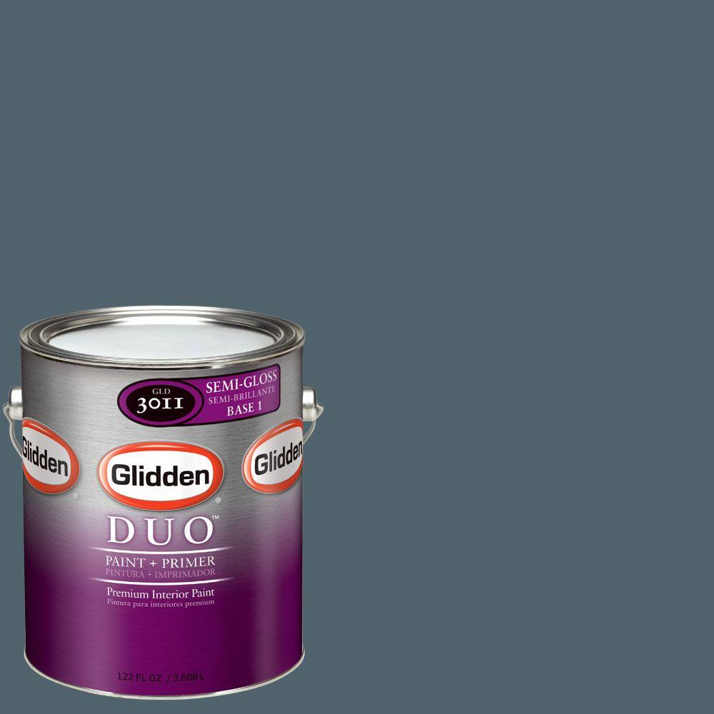 Glidden DUO Martha Stewart Living 1-gal. #MSL163-01S Plumage Semi-Gloss Interior Paint with Primer - DISCONTINUED