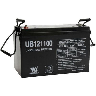 12-Volt 110 Ah I6 Terminal Sealed Lead Acid (SLA) AGM Rechargeable Battery