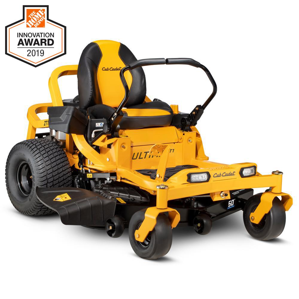 Cub Cadet Ultima ZT1 (Top Rated Mower for Hillsides)