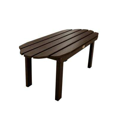 Essential Canyon Rectangular Recycled Plastic Outdoor Coffee Table