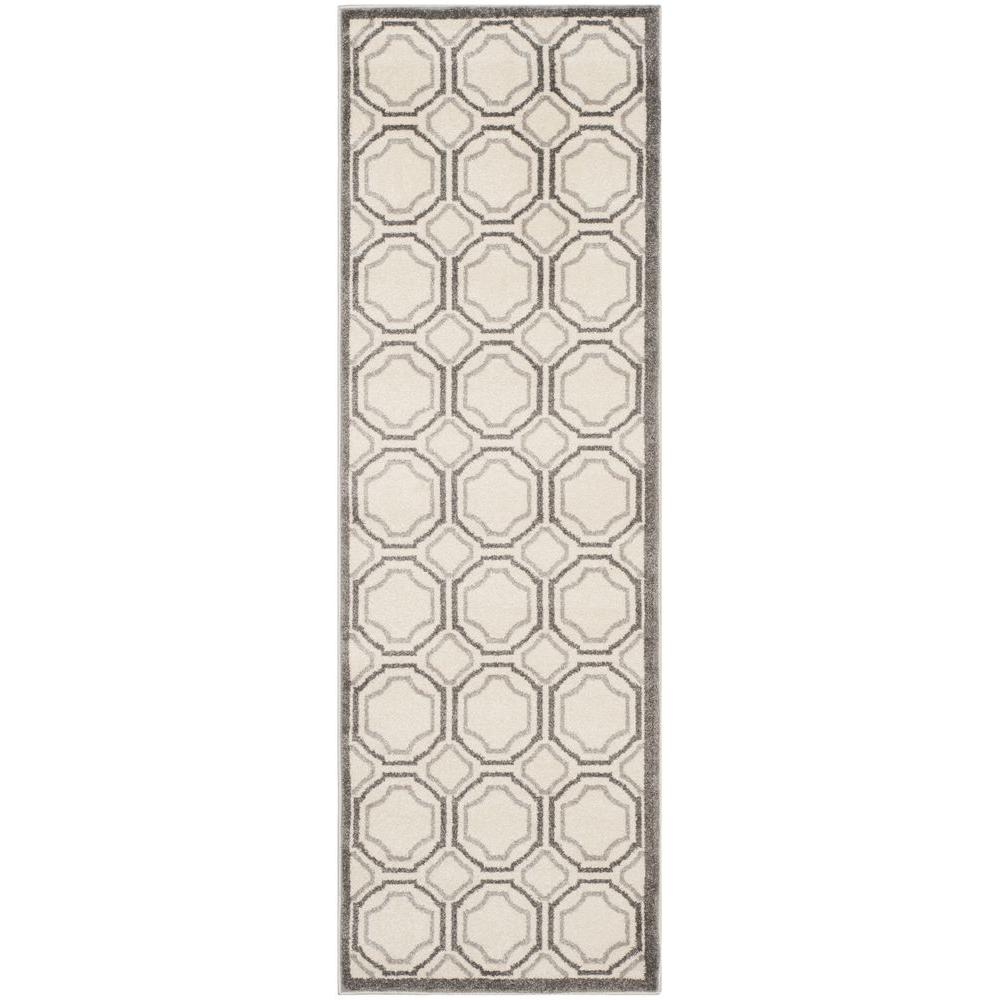 Safavieh Amherst Ivory/Light Gray 2 ft. 3 in. x 9 ft. Indoor ...