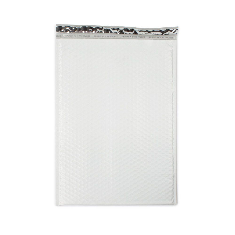 12.5 in. x 18.25 in. White Poly Bubble Mailers Envelope with