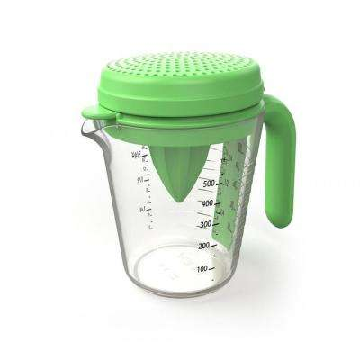 Measuring Jug Set Includes Juicer Egg Separator and Straning Lid