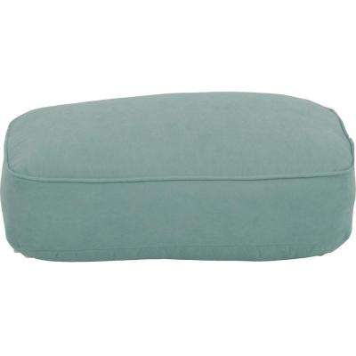 Lily Bay-Lake Adela Surf Replacement Outdoor Ottoman Cushion