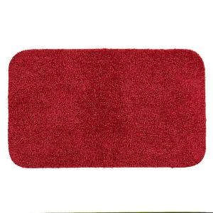 Mohawk Basic Bath 19 5 In X 32 Nylon Mat Cranberry Red 355431 The Home Depot