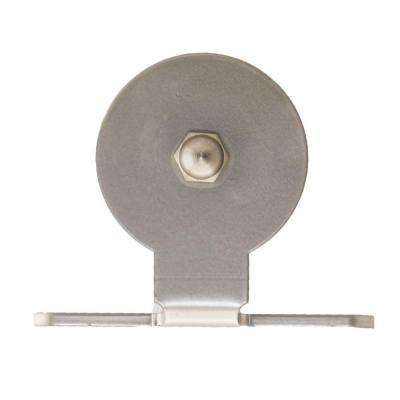 4-3/4 in. x 4-1/2 in. Top Mount Satin Nickel Roller Strap