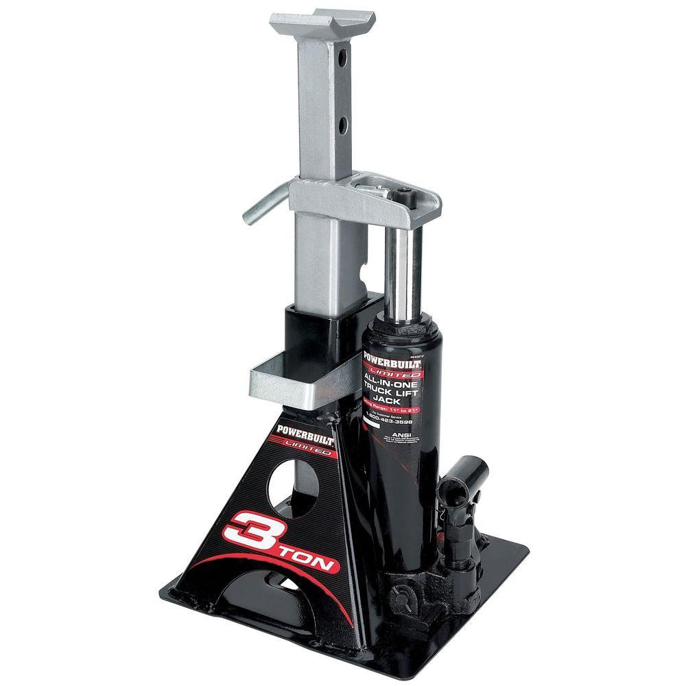 Portable Bottle Jack Stand 3-Ton 6,000 Lb All-In-One Auto ...
