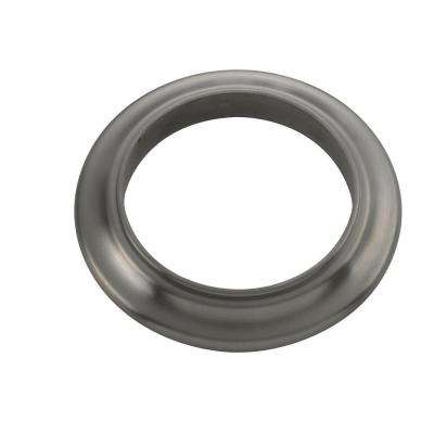 Builders Spout Flange, Brushed Nickel