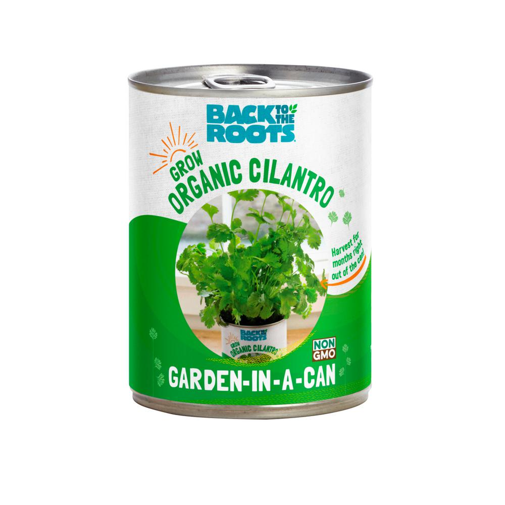 BacktotheRoots Back to the Roots Garden in a Can Cilantro