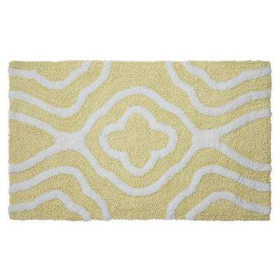 Reversible Cotton Soft Giri Banana 21 in. x 34 in. Bath Mat