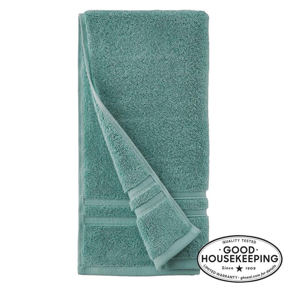 Turkish Cotton Ultra Soft Hand Towel in Aloe