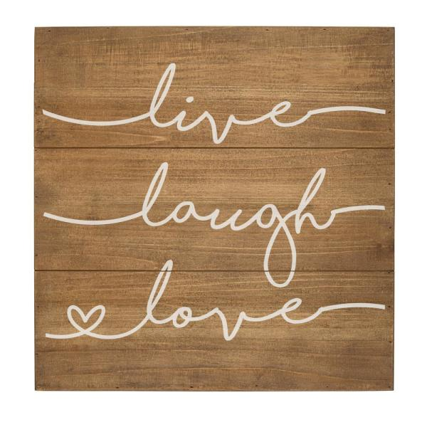 Cathy S Concepts Live Laugh Love Rustic Wooden Wall Art Lll 2175br 7