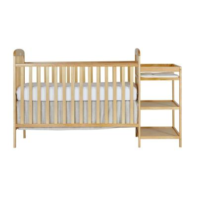 Anna 4-in-1 Natural Crib and Changing Table Combo