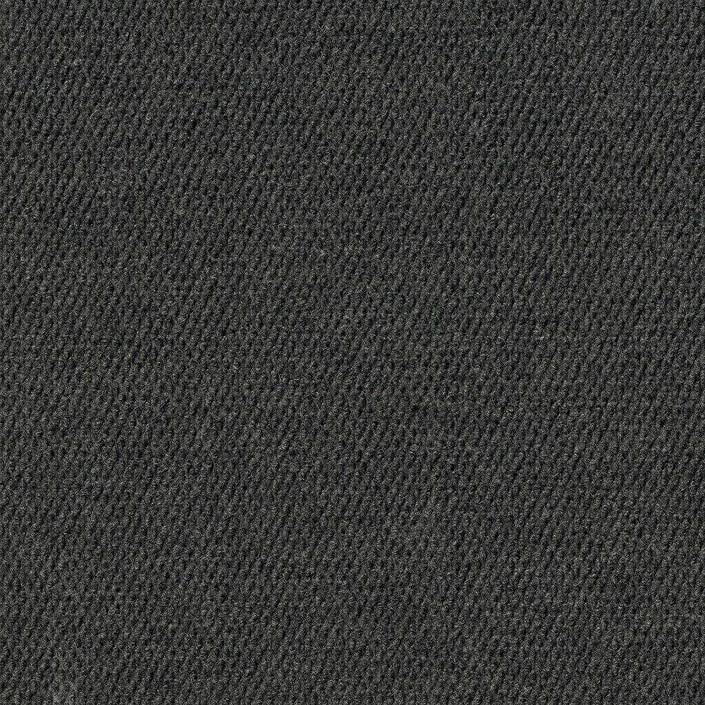 Caserta Black Ice Hobnail Texture 18 in. x 18 in. Indoor/Outdoor Carpet Tile (10 Tiles/Case)