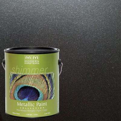 1 gal. Black Pearl Metallic Interior/Exterior Paint