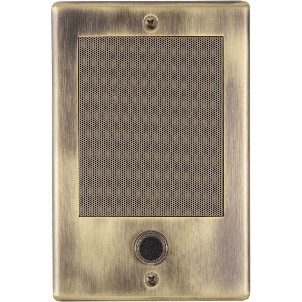Nutone nm series door speaker for intercoms ndb300ab the for Door intercom