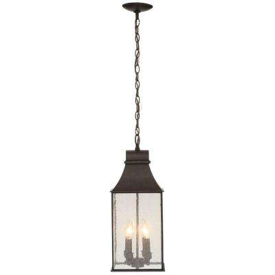 Revere Collection 4-Light Flemish Outdoor Hanging Lantern