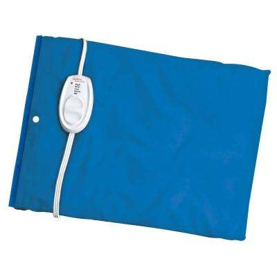 12 in. x 15 in. Heat Pad with Moist Heat Blue