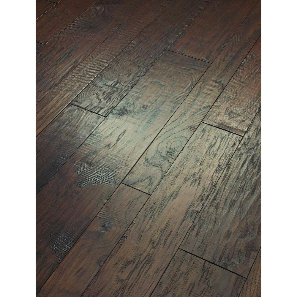 Shaw Drury Lane Chocolate 3/8 in. Thick x Varying Width and Length Engineered Hardwood Flooring (34.69 sq. ft. /case)