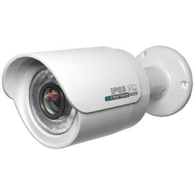 Wired 1080p Indoor/Outdoor Weatherproof IP Bullet Surveillance Camera with 65 ft. IR Range