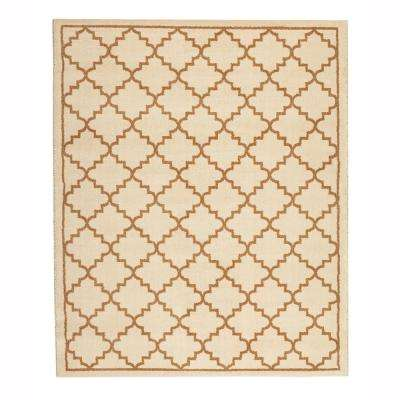 Winslow Cream 8 ft. x 10 ft. Indoor Area Rug