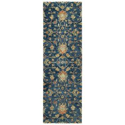 Chancellor Denim 3 ft. x 8 ft. Runner Rug