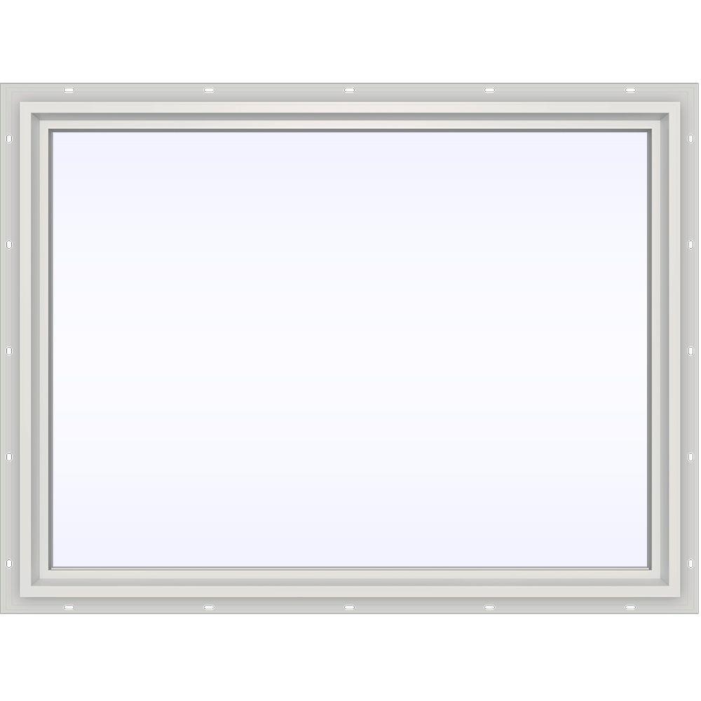 JELD-WEN 47.5 in. x 35.5 in. V-4500 Series Fixed Picture Vinyl Window in White