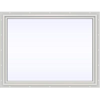 JELD-WEN 47.5 in. x 35.5 in. V-4500 Series White Vinyl Picture Window w/ Low-E 366 Glass