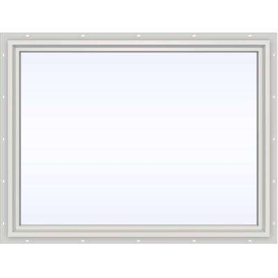 47.5 in. x 35.5 in. V-4500 Series Fixed Picture Vinyl Window in White