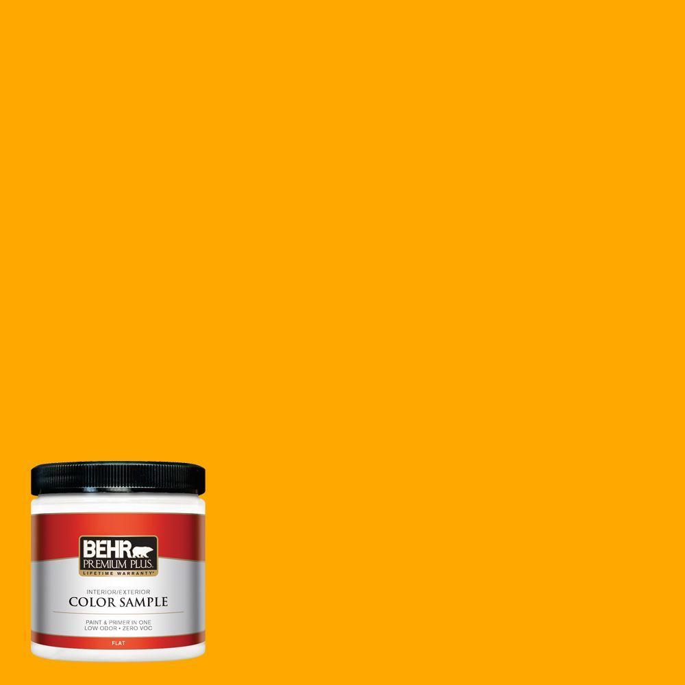 BEHR Premium Plus 8 oz. #S-G-330 Instant Delight Interior/Exterior Paint Sample