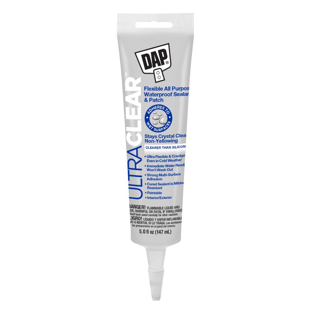 DAP Ultra Clear 5 oz. All Purpose Waterproof Sealant
