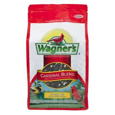 6 lb. Cardinal Blend Wild Bird Food