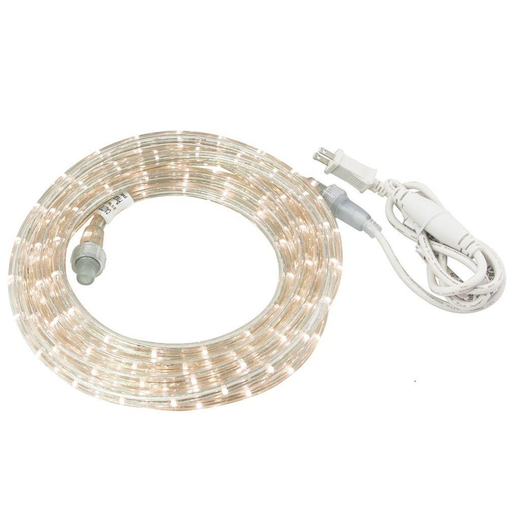 American Lighting Irradiant 30 ft. Cool White LED Rope Li...
