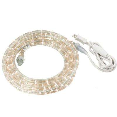 30 ft. Cool White LED Rope Light Kit