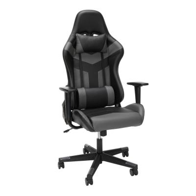 Essentials Collection High Back PU Leather Gaming Chair, in Grey (ESS-6075-GRY)