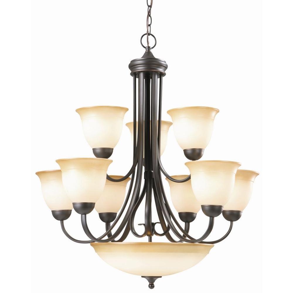 Design House Cameron 10-Light Oil Rubbed Bronze Chandelier