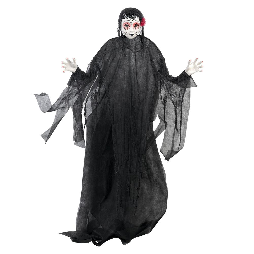 halloween large doll hanging prop