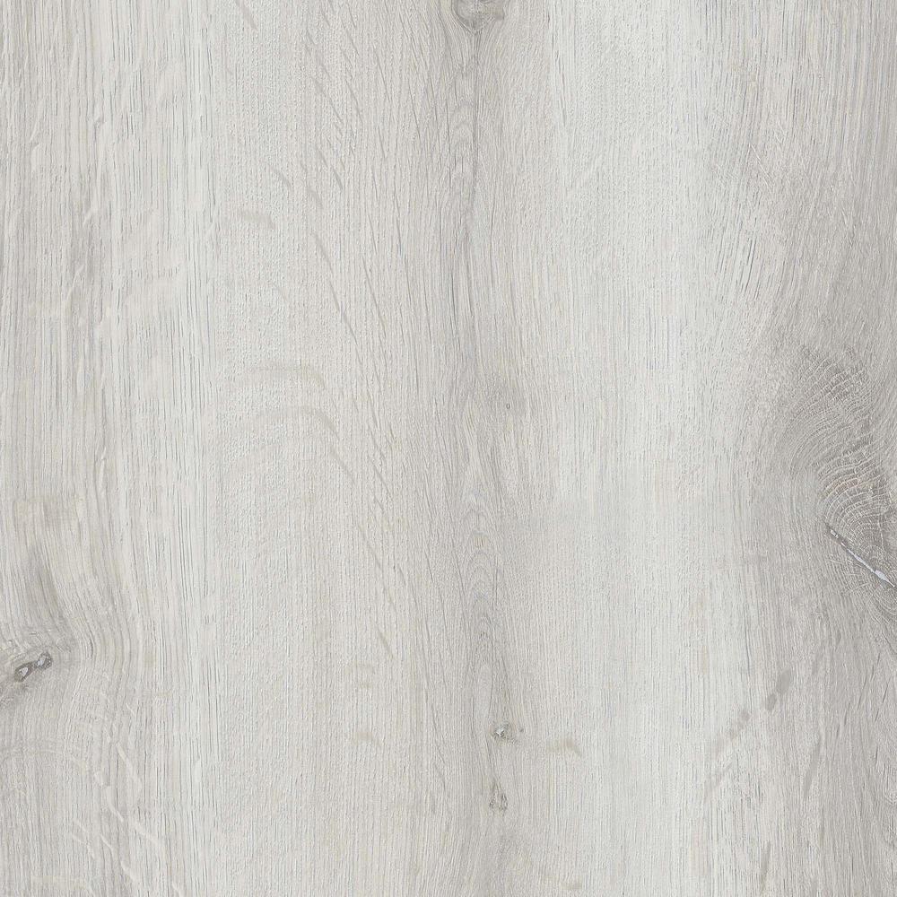 ISOCORE Silver Silk 7.1 in. W x 47.6 in. L Luxury Vinyl Plank Flooring (18.73 sq. ft./case)