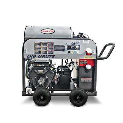 Big Brute 4000 PSI at 4.0 GPM Vanguard V-Twin with Udor Industrial Triplex Pump Hot Water Gas Pressure Washer