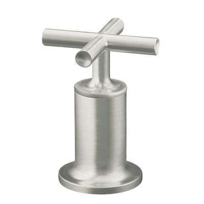 Purist Bath Valve Trim Only in Vibrant Brushed Nickel (Valve Not Included)