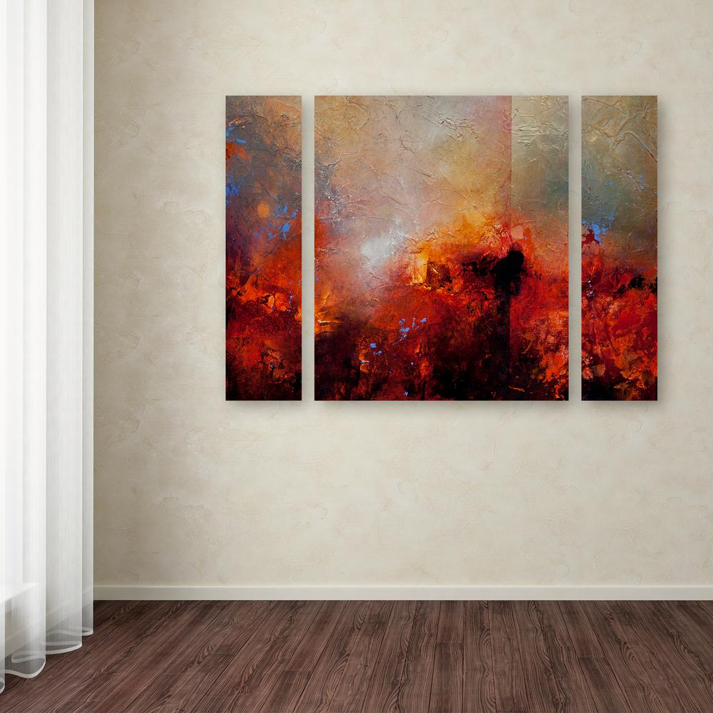"""24 in. x 32 in. """"Red Earth"""" by CH Studios Printed"""