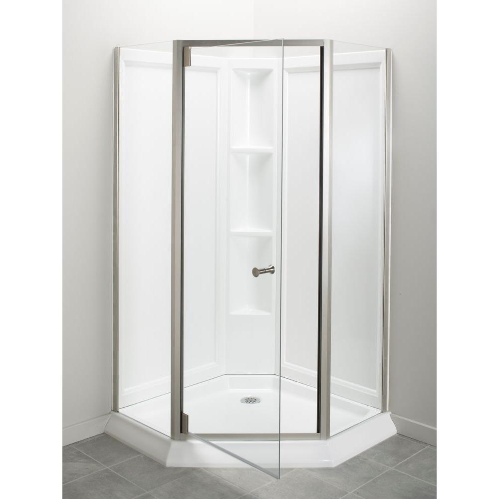 Acrylic - Back - Shower Stalls & Kits - Showers - The Home Depot