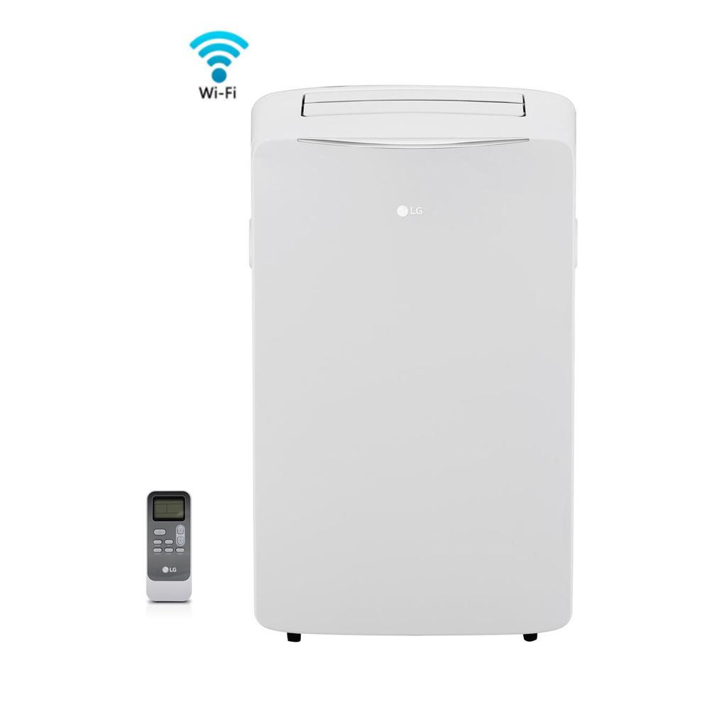 14,000 BTU (8,000 BTU, DOE), 115-Volt Smart, Wi-Fi Portable AC w/